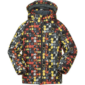 Kamik Rusty Planet Chaqueta Niños, fire red cement